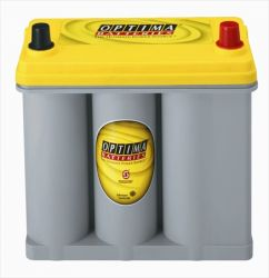 OPTIMA Yellow TOP YT R 2.7J, 12V / 38Ah EN 460A