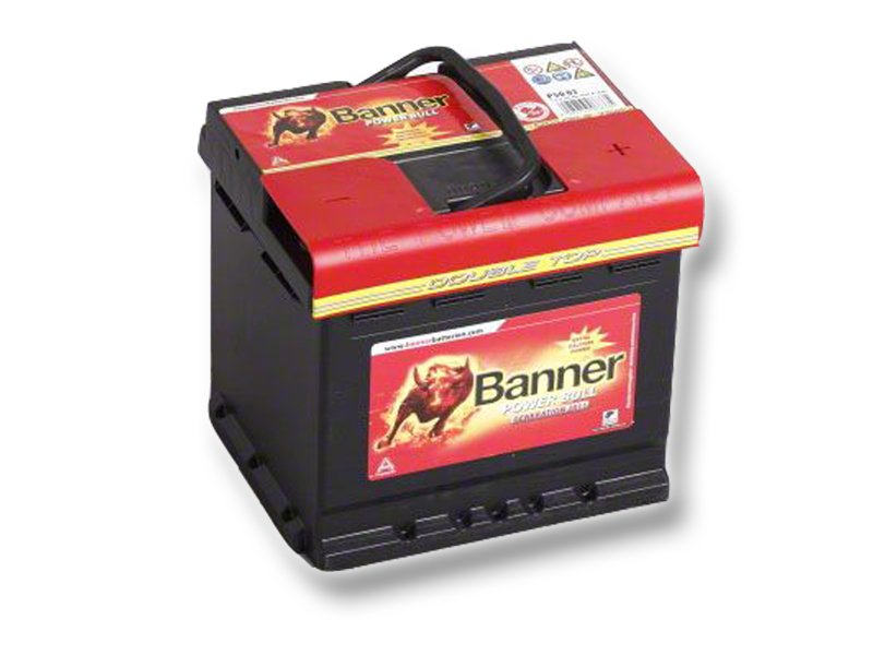 Autobaterie Banner Power Bull  50Ah/12V 450A ( P5003 )