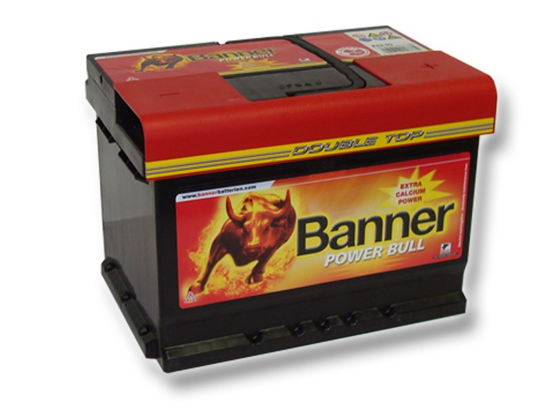 Autobaterie Banner Power Bull  62A/ 12V  540A ( P6219 )
