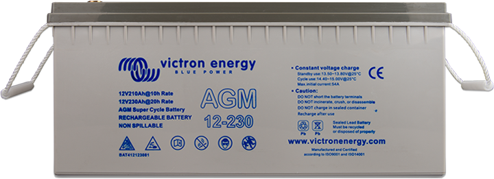 Akumulátor Victron Energy AGM Super Cycle 12V, 230Ah C20