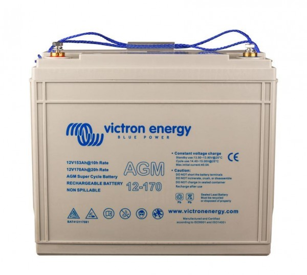 Akumulátor Victron Energy AGM Super Cycle 12V, 170Ah C20