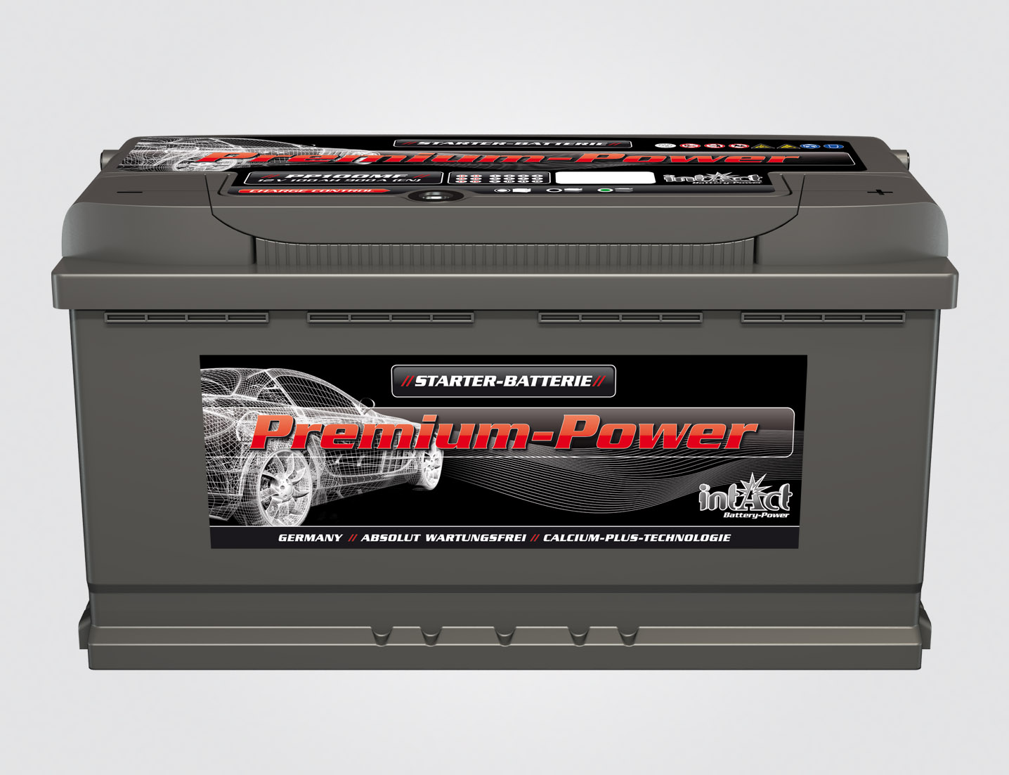 INTACT PREMIUM POWER PP100MF, 12V/100Ah 760A