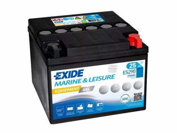 Trakční baterie EXIDE EQUIPMENT GEL ES290, 25Ah, 12V, 290Wh