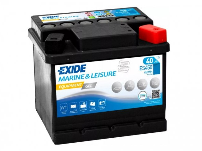 Trakční baterie EXIDE EQUIPMENT GEL ES450, 40Ah, 12V