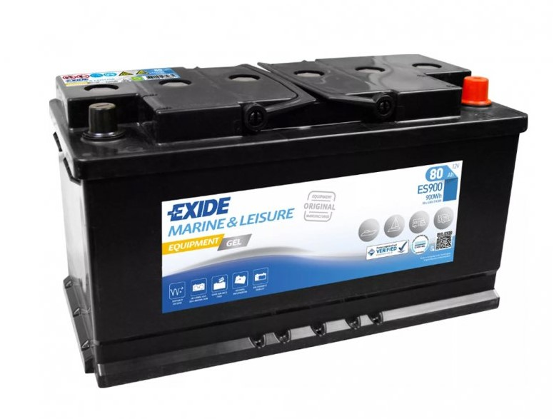 Trakční baterie EXIDE EQUIPMENT GEL ES900, 80Ah, 12V