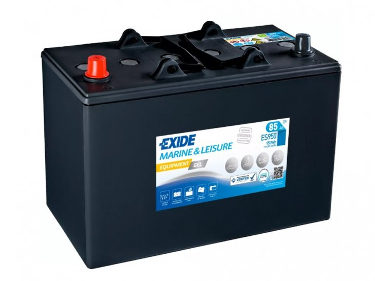 Trakční baterie EXIDE EQUIPMENT GEL ES950, 85Ah, 12V, 950Wh