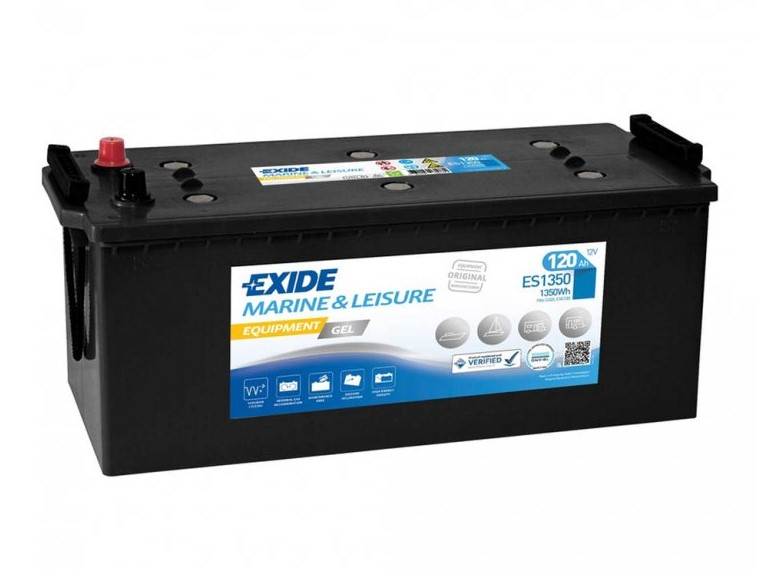 Trakční baterie EXIDE EQUIPMENT GEL ES1350, 120Ah, 12V, 1350Wh
