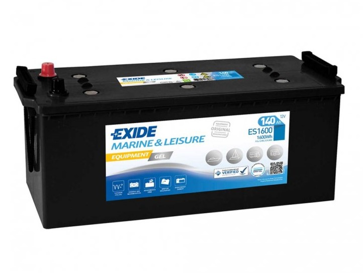 Trakční baterie EXIDE EQUIPMENT GEL ES1600, 140Ah, 12V, 1600Wh